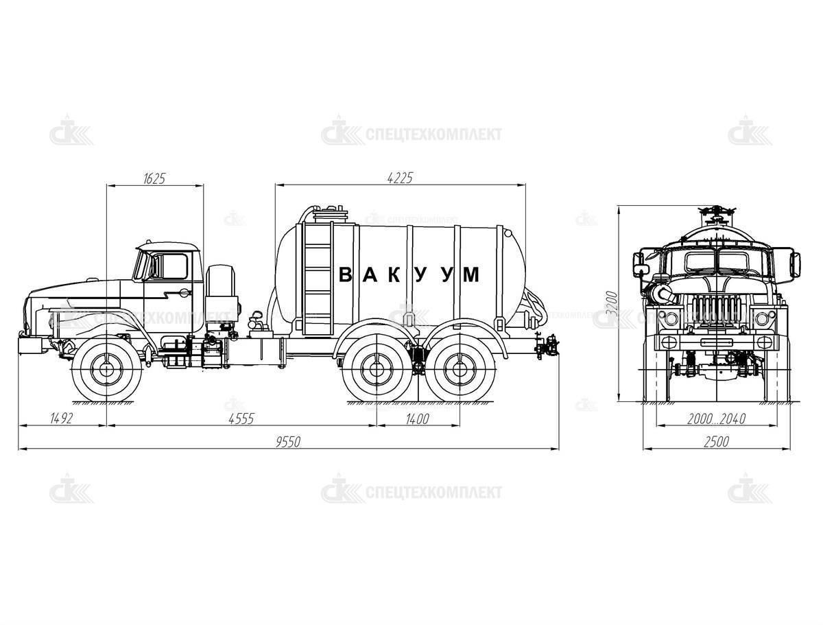 025 MB 10 Ural 4320 1951 72 - MB-10 Урал 4320-1951-72