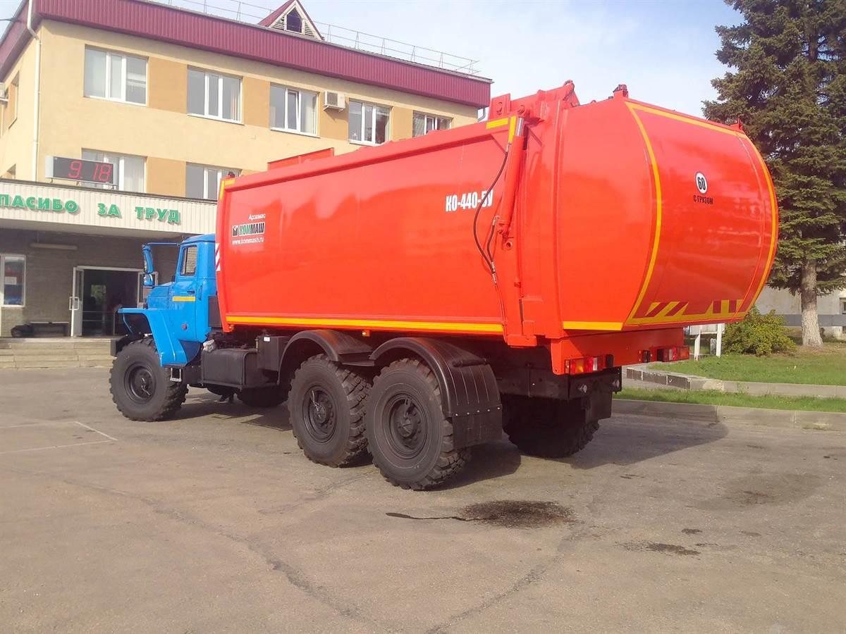 IMG 0223 - Мусоровоз с боковой загрузкой КО-440-5У