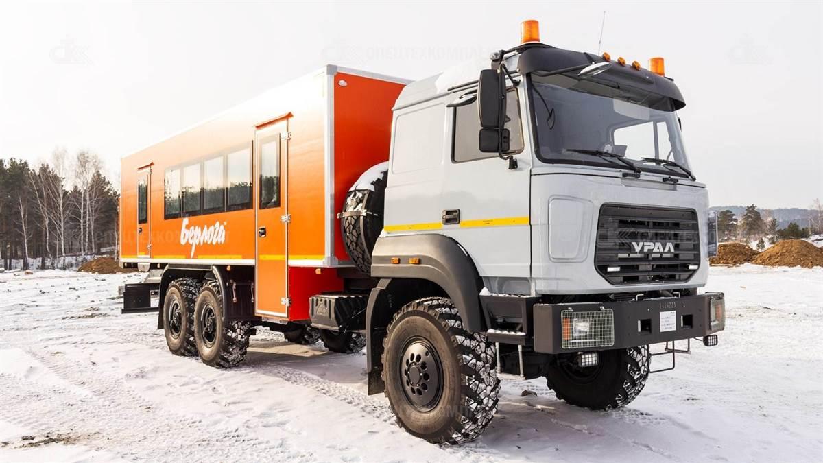IMG 1612 - Вахтовый автобус Урал 4320-4971-80