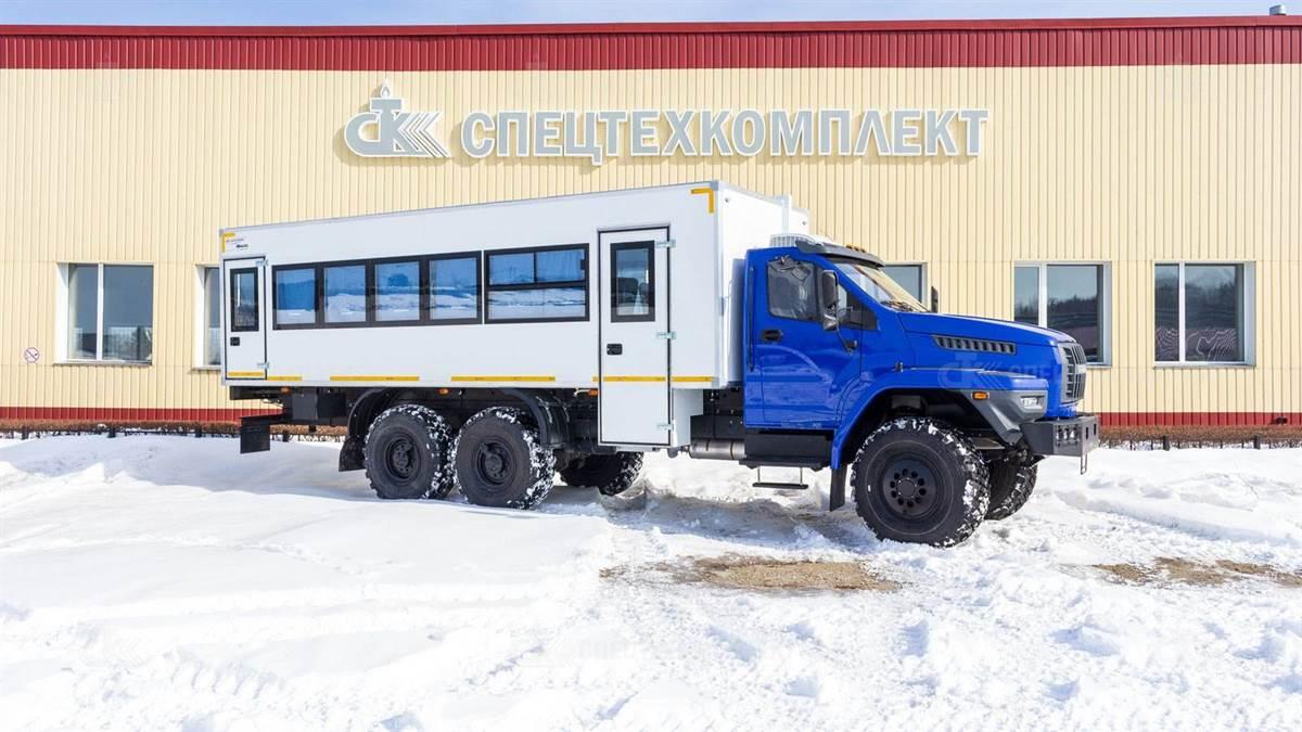 IMG 2093 - Вахтовый автобус Урал 4320-6951-72