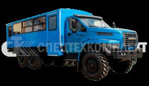 Вахтовые автобусы Урал 7