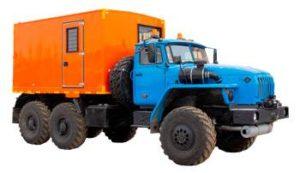 Автофургоны Урал 4320 4