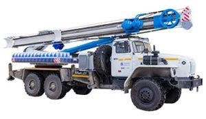 Техника для нефтегазодобычи Урал 4320 2