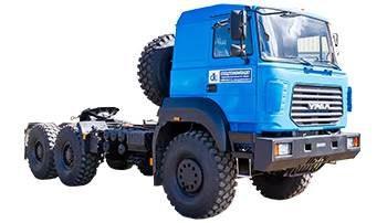 Седельный тягач Урал 63704-0111