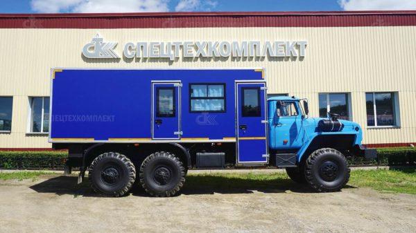 Вахтовый автобус на шасси Урал 4320-1951-72 2