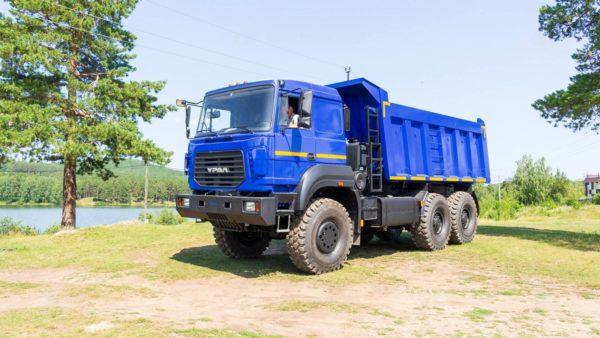 Самосвал Урал 6370К-0121-30 2