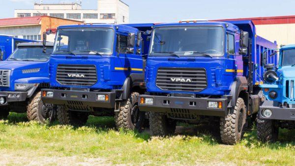 Самосвал Урал 6370К-0121-30 13