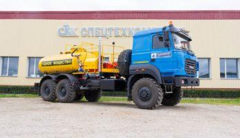 Автомобиль для кислотной обработки скважин на шасси Урал 4320-80
