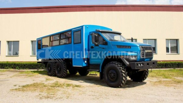 Вахтовый автобус Урал NEXT 3255-5013-71 2