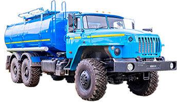 Цистерны и топливозаправщики Урал 1