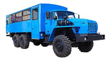 Вахтовый автобус Урал 3255-0013-61