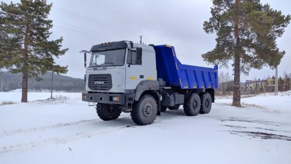 Самосвал 58312G на шасси Урал 5557-4551-80 1