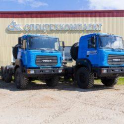 Урал-6370 1