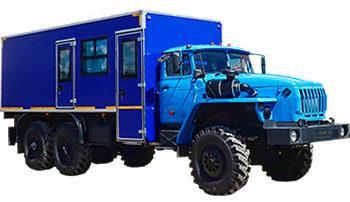 Вахтовый автобус Урал 4320 1