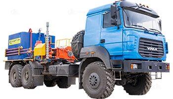 Цементировочный агрегат СИН-32 без ВПБ на шасси Урал 4320-4972-80
