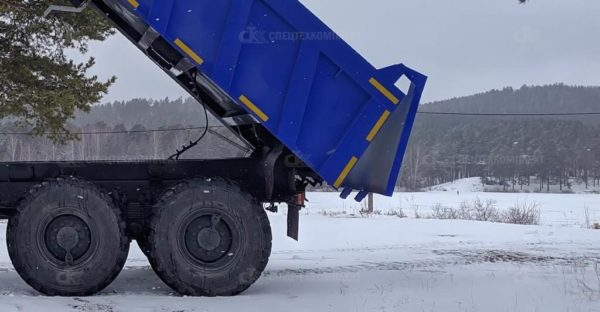 Самосвал 58312G на шасси Урал 5557-4551-80 5