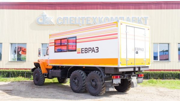Вахтовый автобус Урал 4320-1912-72 (Комплектация ЕВРАЗ)