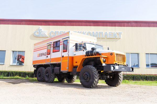 Вахтовый автобус Урал 4320-1912-72 (Комплектация ЕВРАЗ) 1