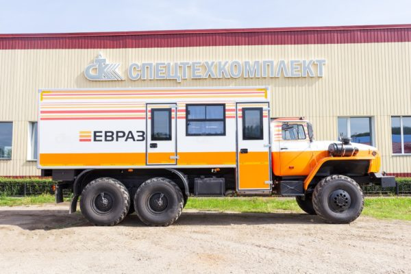 Вахтовый автобус Урал 4320-1912-72 (Комплектация ЕВРАЗ) 2