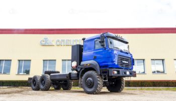 Шасси Урал 4320-6952-16 CNG