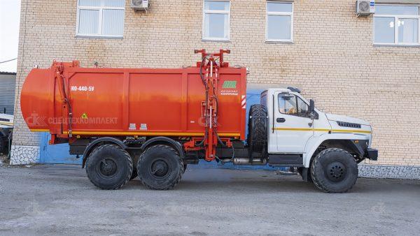 Мусоровоз КО-440-5У Урал 4320-6952-72