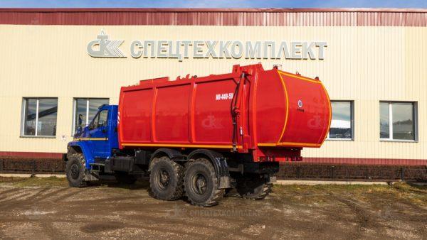 Мусоровоз КО-440-5У Урал 4320-6952-72 2