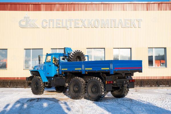 Урал Бортовой с КМУ на шасси 4320-1151-61