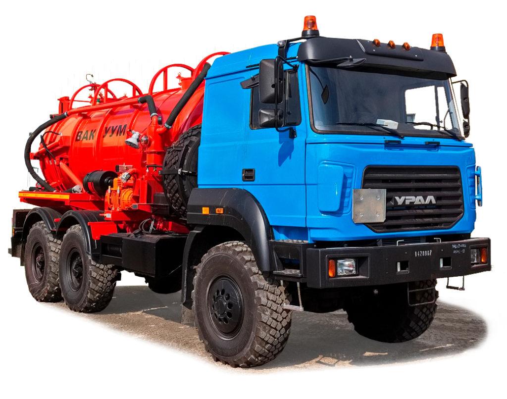 Цистерны и топливозаправщики Урал