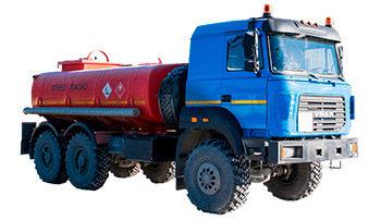 ППУ 1600/100 на шасси Урал NEXT 4320-6952-72 (со спальным местом, хоз отсеком)