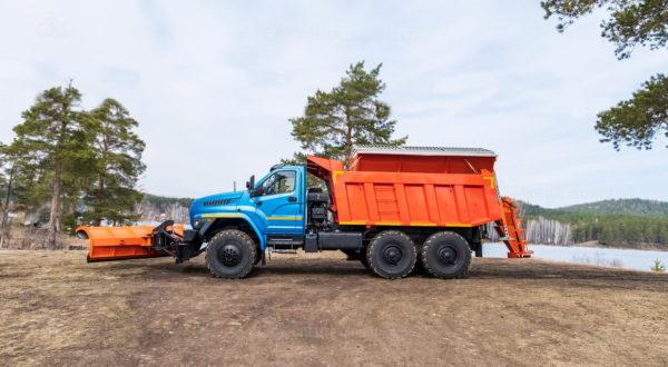 Шнекороторный снегоочиститель с боковым отвалом Урал 55571-5121-72 5