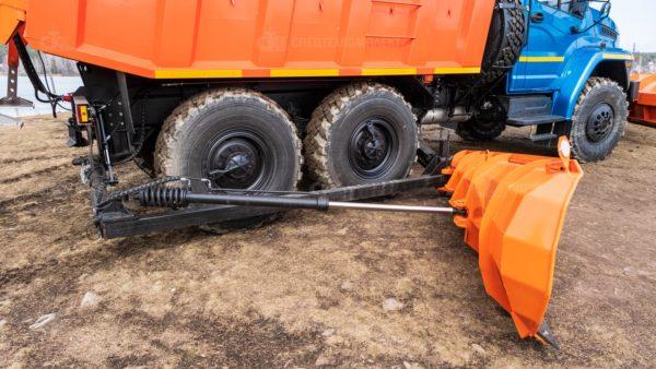 Шнекороторный снегоочиститель с боковым отвалом Урал 55571-5121-72 11