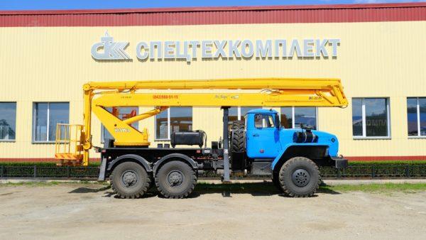 Автогидроподъемник ВС-22.05 Урал 4320-1151-73