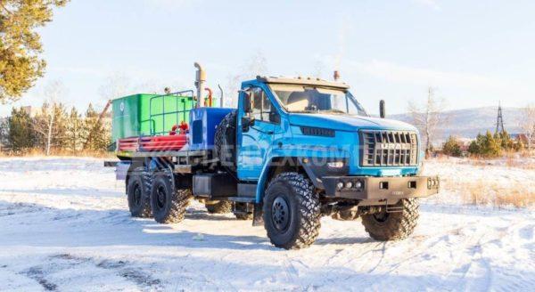 Цементировочный агрегат АЦ-32 Урал 4320-6951-72