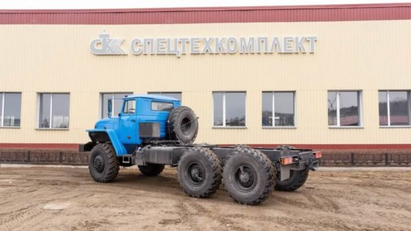 Шасси Урал 55571-1112-60
