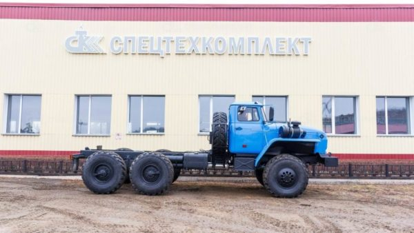 Шасси Урал 43204-1112-72