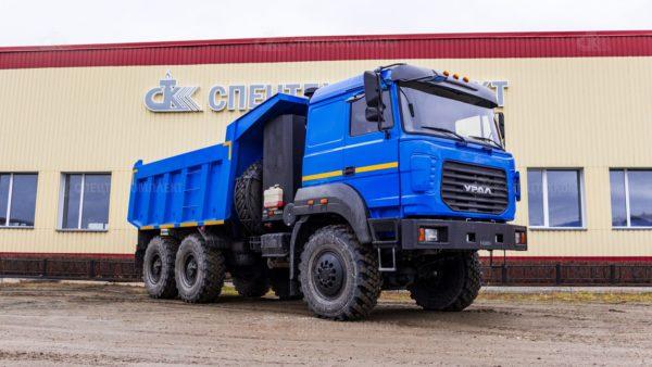 Самосвал Урал CNG 55571-3521-16
