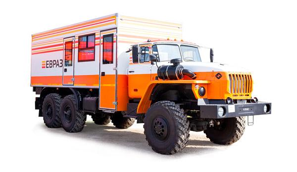 Вахтовые автобусы Урал 1