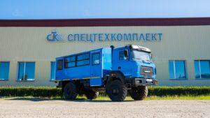 Вахтовые автобусы Урал 3