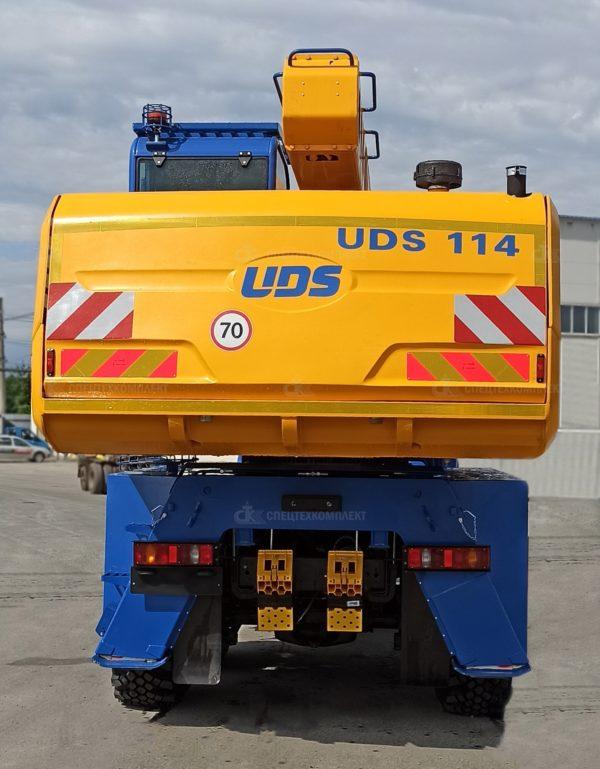 Универсальный экскаватор-планировщик UDS 114 10
