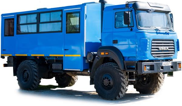 Вахтовый автобус Урал М