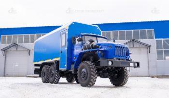 Фургон специальный Урал 4320-1112-61 с КМУ ИМ 50 (Копировать)