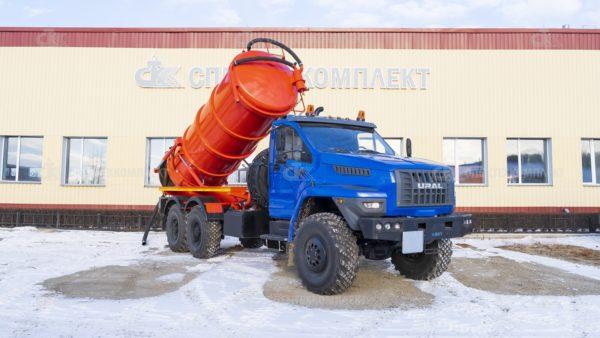 Автоцистерна АКНС 4671L2-30 Урал 4320-6952-72 (АКНС-10)