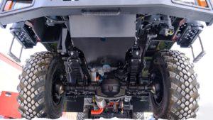Защита двигателя автомобиля Урал