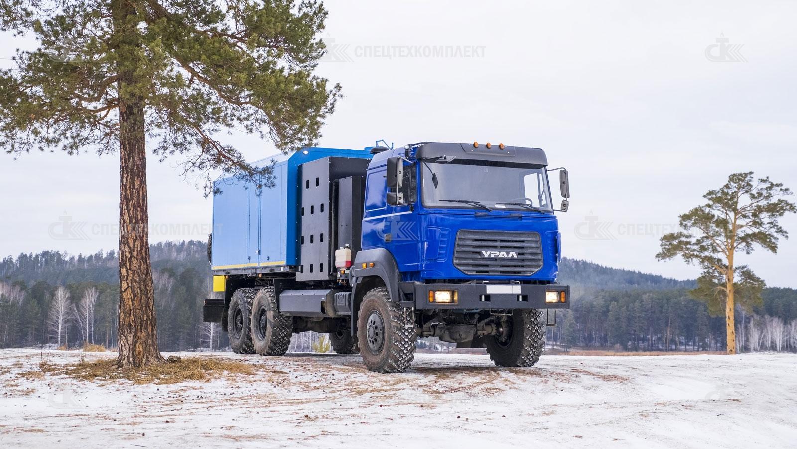 ППУ на Шасси Урал CNG 4320-4972-16И03