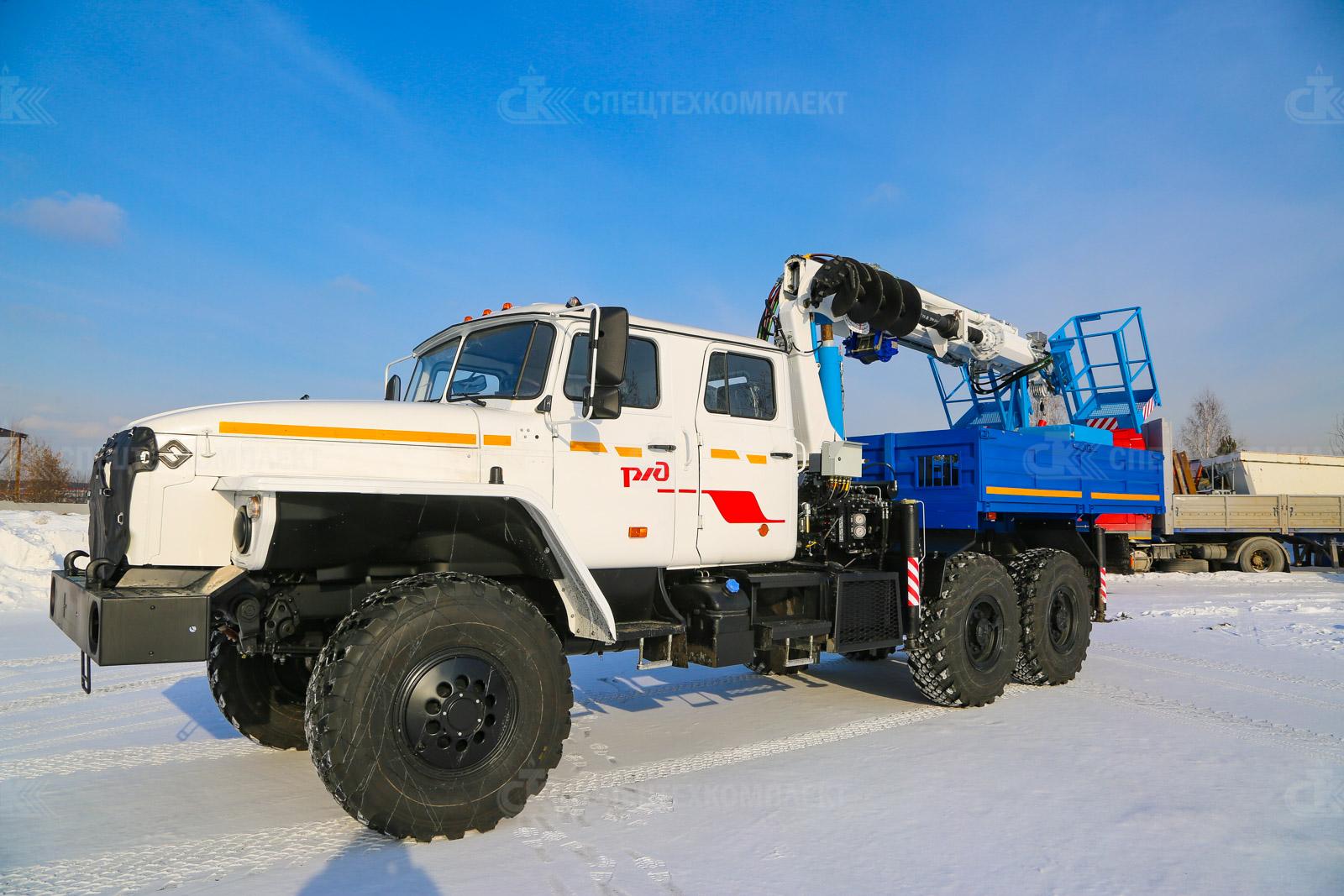 МКМ-200 на шасси Урал 4320-1982-60