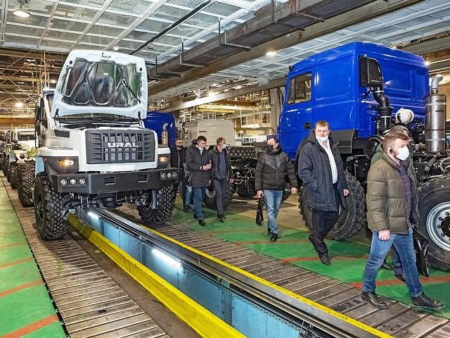 Автомобильный завод «Урал» об итогах и планах работы 1