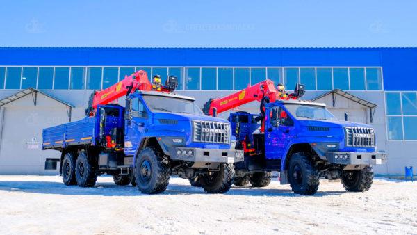 Урал Некст бортовой 4320-6952-72 с КМУ ИТ-200