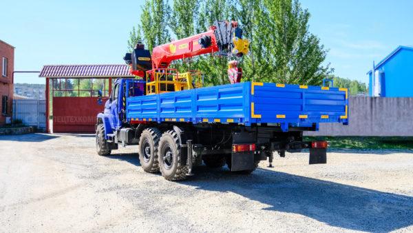 Урал Некст бортовой 4320 с КМУ ИТ-200 с люлькой