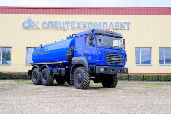 Вакуумная машина МВ-10 Урал-5557